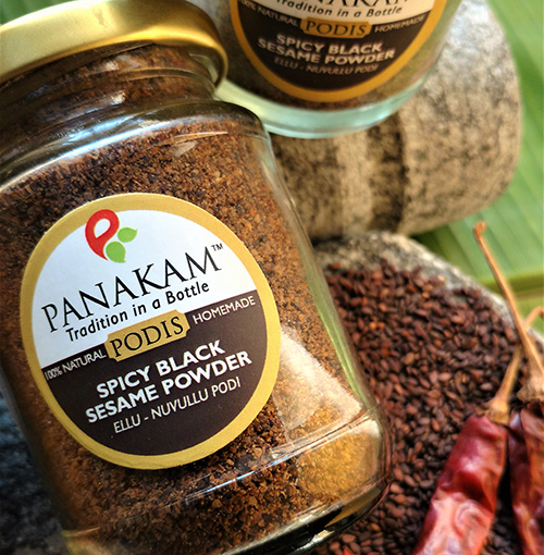 Spicy Black Sesame Powder