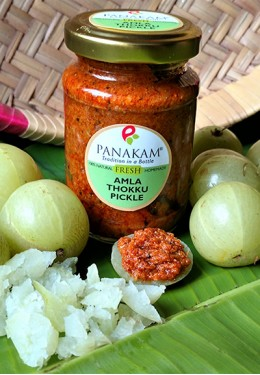 Fresh Amla Thokku Pickle