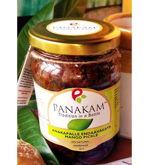 Anakapalle Endaavakaaya Mango Pickle (With Garlic)