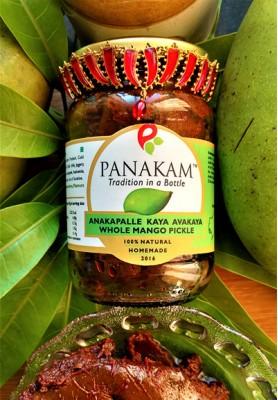 Anakapalle Kaya Avakaya Whole Mango Pickle (Made to Order)