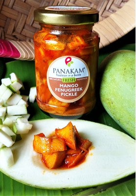 Fresh Mango & Fenugreek Hot & Sweet Pickle