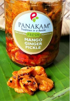 Fresh Mango Ginger Pickle