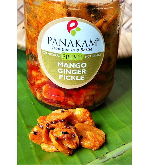 Fresh Mango Ginger Pickle