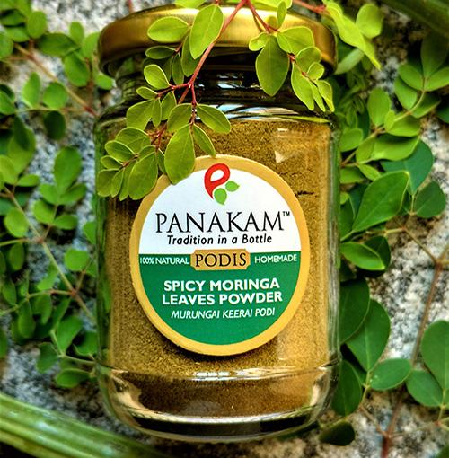 Spicy Moringa Leaves Powder