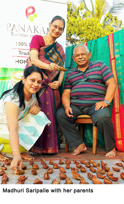 madhuri-family